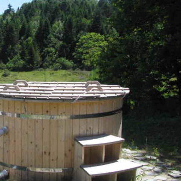 Chambres d'hôtes en Ardèche, Bain nordique
