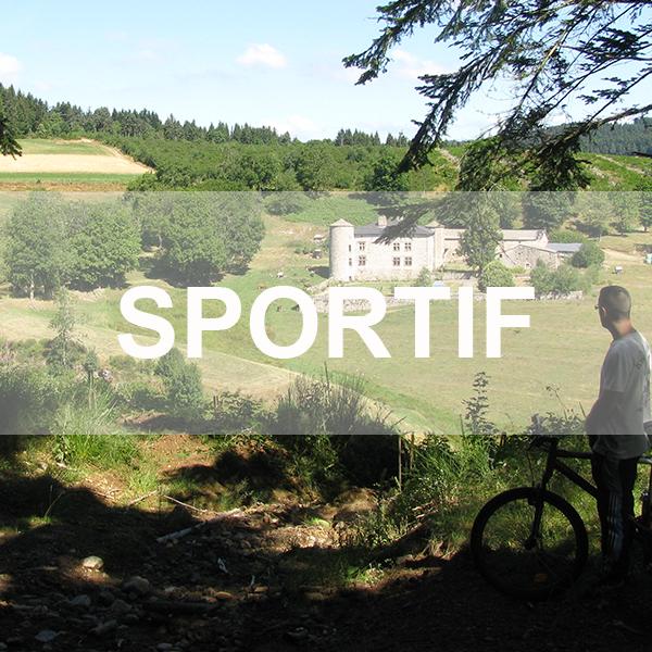 Chambres d'hôtes en Ardèche, sauna et balnéo Sportif VTT